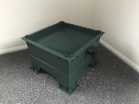 The Green Wormery, made from 100% recycled plastic