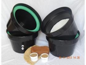 Herb Garden Wormery - 2 composters